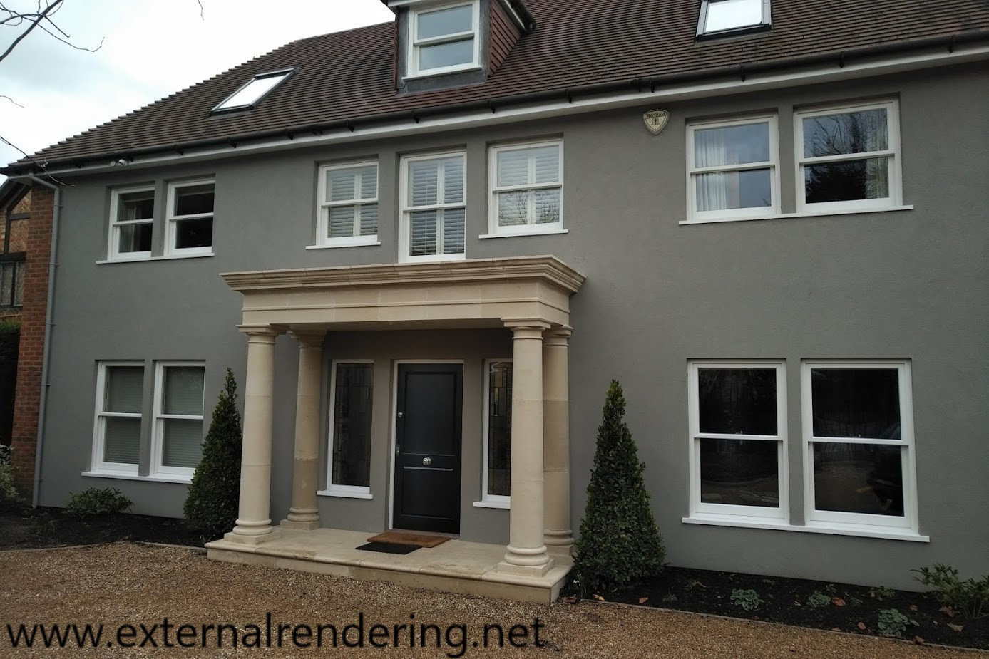 external rendering gallery photos of a render specialist. Black Bedroom Furniture Sets. Home Design Ideas